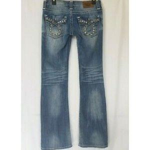 Big Star Womens Liv Boot Cut Jeans 27 X 32